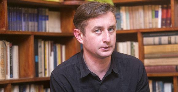 """Serhijus Žadanas: """"Apie karą ir mirtį reikia rašyti kitaip"""""""