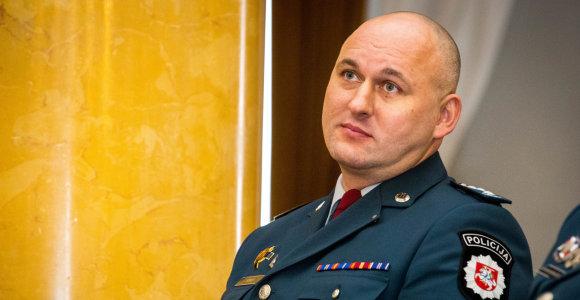 Vilniaus policijos vadovu tapęs Rolandas Kiškis: gatvėse bus daugiau pareigūnų