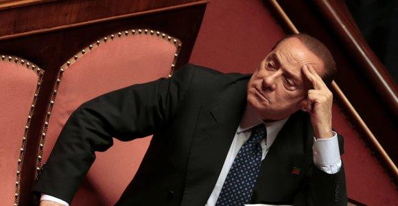 """Už """"Milan"""" klubą Silvio Berlusconi pasiūl"""