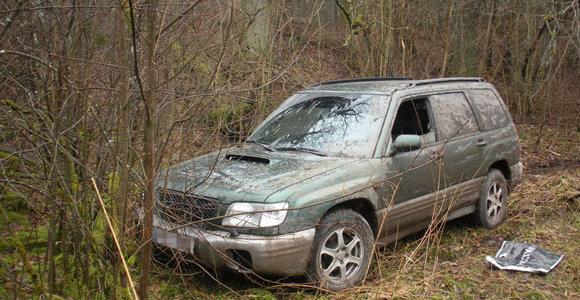 Rusiškų cigarečių krovinio laukę kontrabandininkai neteko automobilio