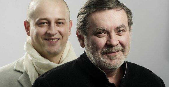 """Jaunimo teatro premjeroje """"Juoko akademija"""" – Kosto Smorigino ir Sergejaus Ivanovo tandemas"""