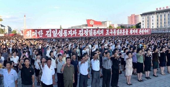 Šiaurės Korėjoje protestais prieš JAV paminėtos Korėjų karo metinės