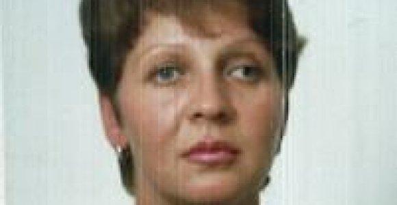 Ieškoma be žinios dingusi klaipėdietė Galina Lukoševič