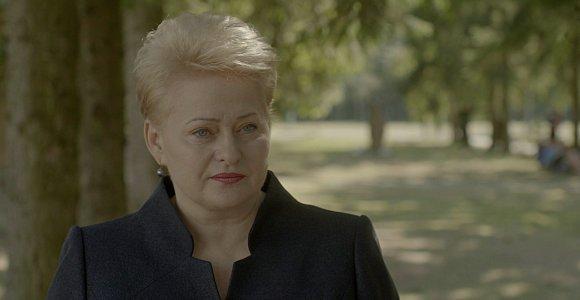 N.Medutytės kino filmo anonse – Lietuvos prezidentė ir šauktiniai savanoriai