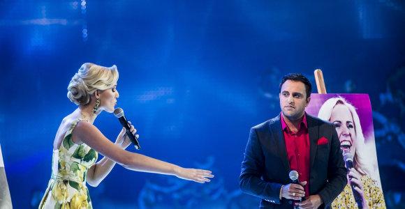 """Komisijos """"Žvaigždžių duetuose"""" sukritikuotas Radžis pažadėjo pasirodyti su nauju partneriu"""