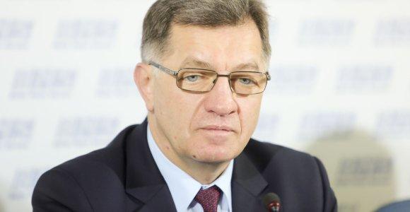 Premjeras: užsienio įmonės norėtų prisidėti prie nacionalinių oro linijų kūrimo