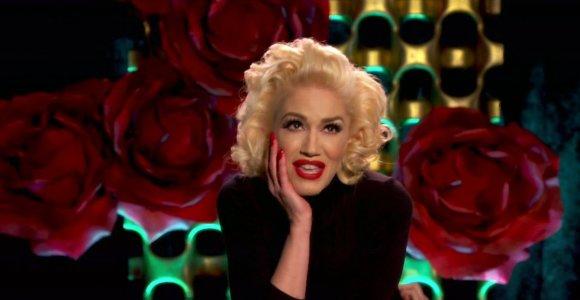 """Įvertinkite: per """"Grammy"""" apdovanojimų pertrauką Gwen Stefani spėjo nufilmuoti vaizdo klipą"""