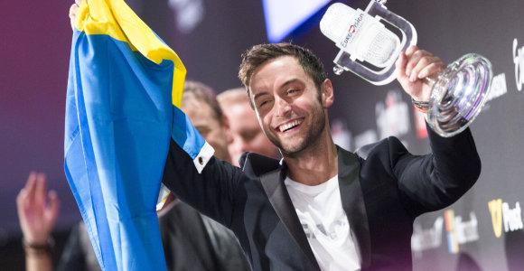 """""""Euroviziją"""" laimėjęs švedas Måns Zelmerlöw: """"Tas žmogeliukas vaizduoja mane vaikystėje"""""""