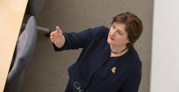 Loreta Graužinienė: VST vadovas neturėjo bauginti visuomenės