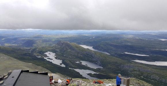 Idealios atostogos Norvegijoje: su kuprine ant pečių