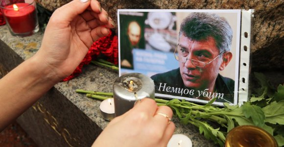 Rusija pasiūlė premiją už informaciją apie opozicijos lyderio Boriso Nemcovo nužudymą