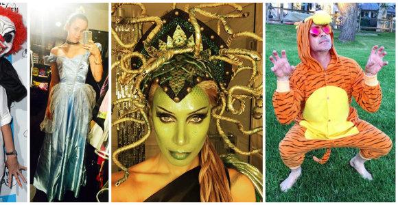 Idėjos Helovinui: išradingiausi Holivudo žvaigždžių kostiumai