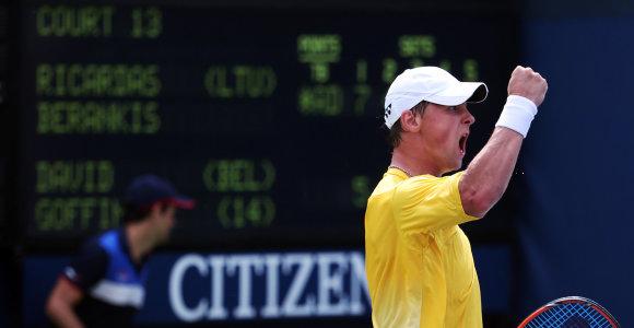Ričardas Berankis antrą kartą karjeroje pateko į ATP turnyro pusfinalį