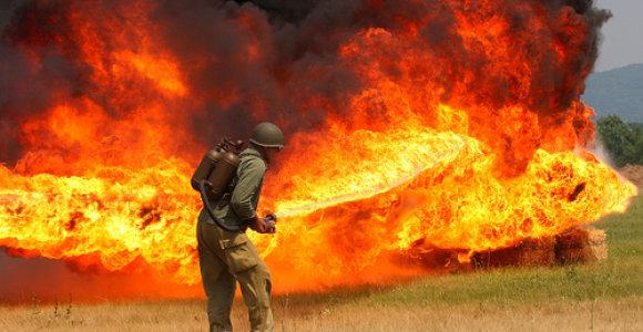 Kybartuose rastas neaiškiomis aplinkybėmis 90 procentų kūno apdegęs vyras