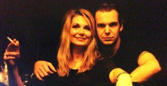 """Nuotraukoje – Aras Vėberis ir Gražina Baikštytė prieš 16 metų: """"Su mylimiausia Moterim"""""""