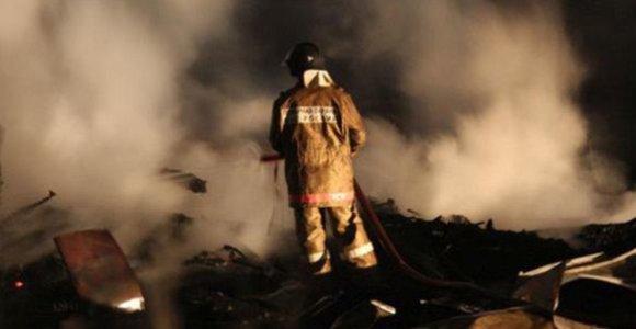 Maskvoje per sandėlio gaisrą žuvo 17 žmonių