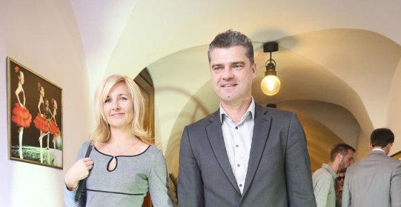 Teismas nutraukė 15 metų trukusią Žilvino Šilgalio ir jo žmonos Linos santuoką