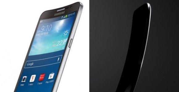 """""""Samsung"""" išmanųjį telefoną sulenkė skersai, """"LG"""" – išilgai: kas patogiau?"""