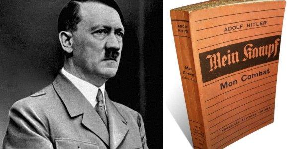 Europoje plintant antisemitinėms nuotaikoms, Vokietija ruošiasi susigrąžinti Hitlerio knygą