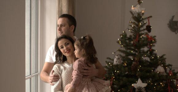 Karina Jeremian-Daniškevičė su šeima laukia Kalėdų