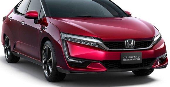"""Kiek kainuos ir kuo galės pasigirti naujoji vandeniliu varoma """"Honda"""""""