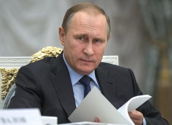 Sputnik/Scanpix. nuotr./Vladimiras Putinas