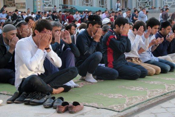 """""""Scanpix"""" nuotr./Musulmonai Tadžikistane"""