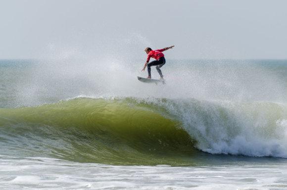 123rf.com nuotr./Peniche paplūdimys Portugalijoje vadinamas banglentininkų rojumi.
