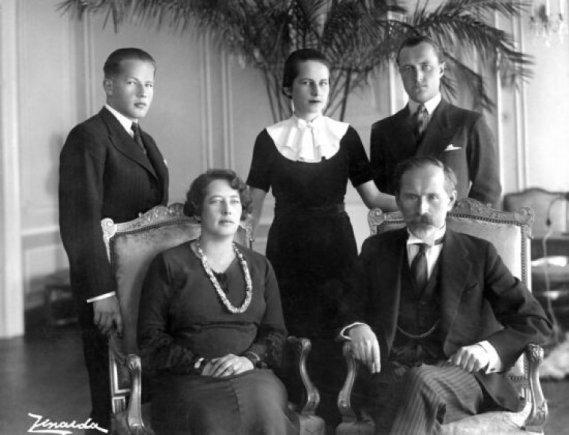 Amzinaitavo.lt archyvo nuotr./Antanas Smetona su šeima