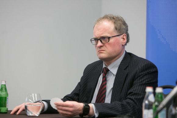 Juliaus Kalinsko/15min.lt nuotr./Leonidas Donskis, Linas Linkevičius, Tomas Venclova