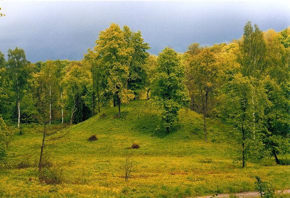 NRPD arch. nuotr./Karmazinų piliakalnis