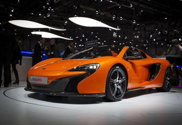 """Irmanto Gelūno/15min.lt nuotr./""""McLaren 650S"""""""