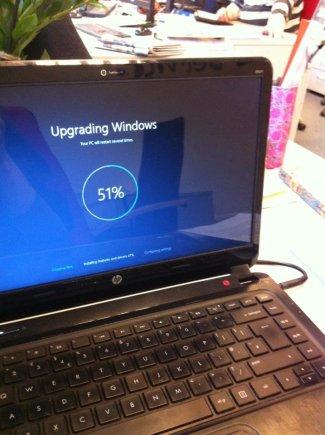 """""""Windows 10"""" įrašoma automatiniu būdu"""