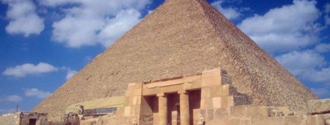 Photos com.nuotr./Viena iš Egipto piramidžių