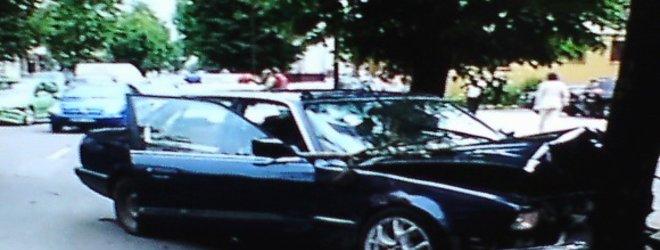 LNK žinių stop kadras/BMW avarijos Šiauliuose padariniai