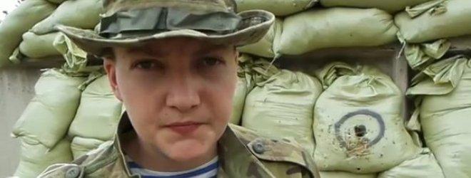 Rusijos pagrobta ir įkalinta Ukrainos lakūnė Nadia Savčenko pareiškė norinti mirti