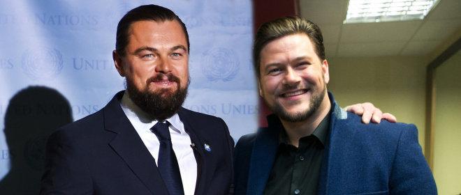 Ar barzdą užsiauginęs Merūnas Vitulskis panašus į Leonardo DiCaprio?