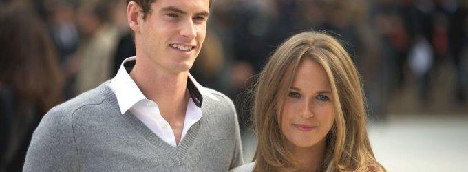 Teniso žvaigždė Andy Murray pasipiršo ilgametei mylimajai Kim Sears