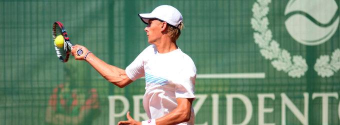 Lukas Mugevičius pergalingai pradėjo turnyrą Turkijoje