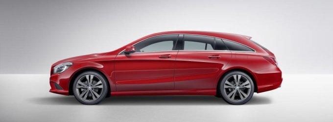 """Naujoji """"Mercedes-Benz"""" CLA klasė pasipildė sportišku universalu"""