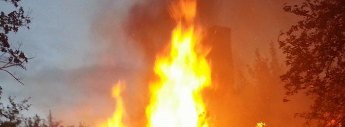 Visų Šventųjų dieną kretingiškių šeimai apkartino gaisras