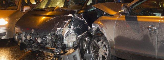Penktadienio vakarą – didžiulė masinė avarija Vilniuje: susidūrė 9 automobiliai