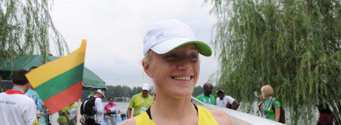 Irkluotoja Sonata Petrikaitė jaunimo olimpinėse žaidynėse užėmė ketvirtą vietą