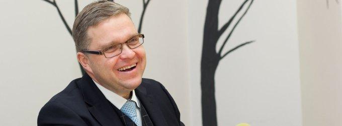 """Lietuvos banko vadovas Vitas Vasiliauskas: """"Jeigu neaugs kainos, nedidės ir pajamos"""""""