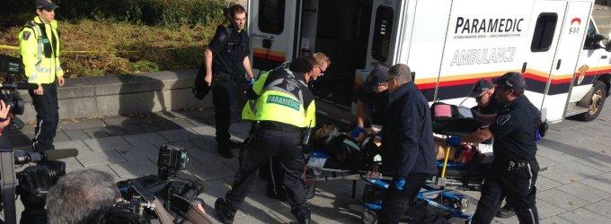 Teroro aktų virtinė Otavoje: nušautas garbės sargybos karys, šaudyta dar dviejose vietose