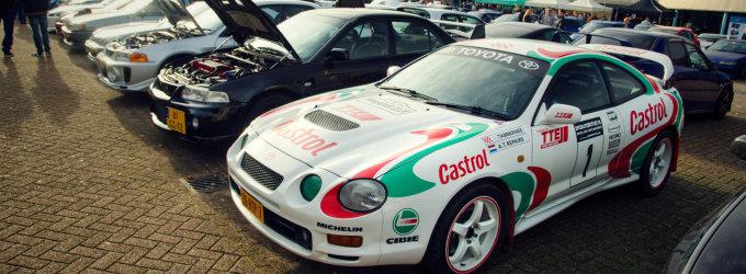 """""""Wangan Warriors"""" klubo susitikime Olandijoje – išskirtiniai japoniški automobiliai"""