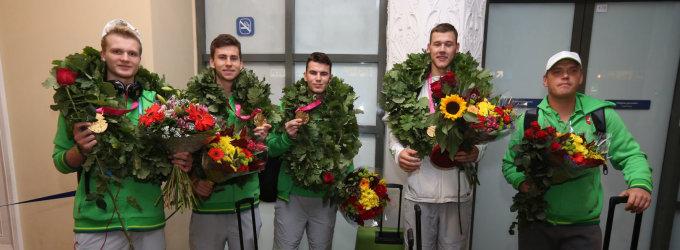 Auksiniai Nandzingo vaikinai tikisi, kad vyrų rinktinė Ispanijoje pakartos jų pasirodymą