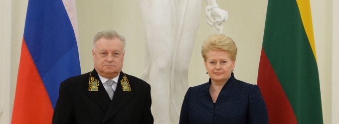 Į URM dėl Lietuvos žvejybinio laivo sulaikymo iškviestas Rusijos ambasadorius