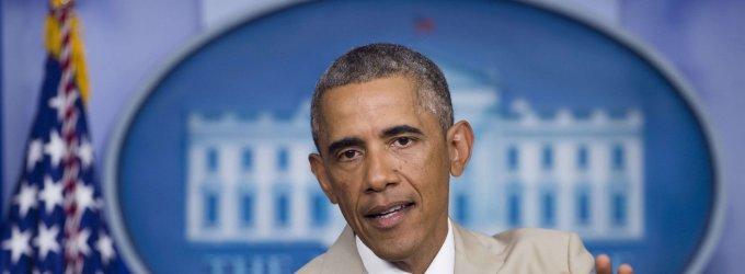 Barackas Obama į Taliną atskris trečiadienio rytą
