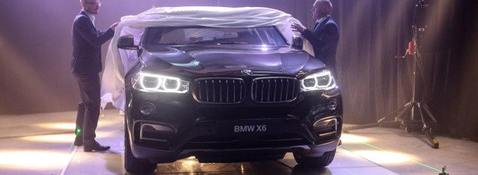 Lietuvoje – išankstinė BMW X6 premjera